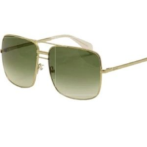 Celine Womens Sunglasses 41808/S Gold Brand New
